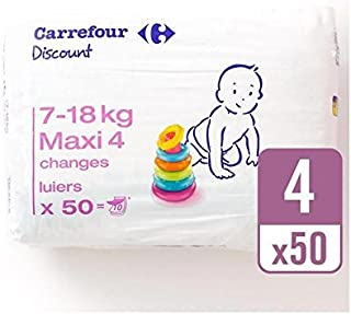 Carrefour Discount Size 4 Carry Pack 50 per pack - Pack of 2