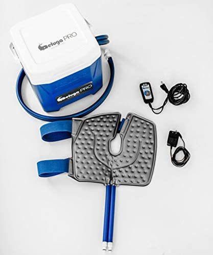 BelugaPRO Arctic Flow Therapy System with Knee Wrap with Advanced Programmable Digital Timer product image