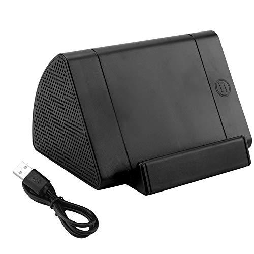 HERCHR Altavoz Portátil Bluetooth con Sonido ESTÉREO (12 vatios de Altura), Graves Pesados, Tarjeta TF y Alcance Bluetooth de 66 pies, hogar, Exterior, Fiesta, Viajes