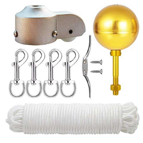 EKEV Flag Pole Hardware Parts Repair Kits - 3