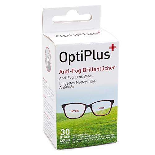 Einmal-Reinigungstücher für Brillen und andere Oberflächen - antibakteriell, antistatisch - 30 Stk.