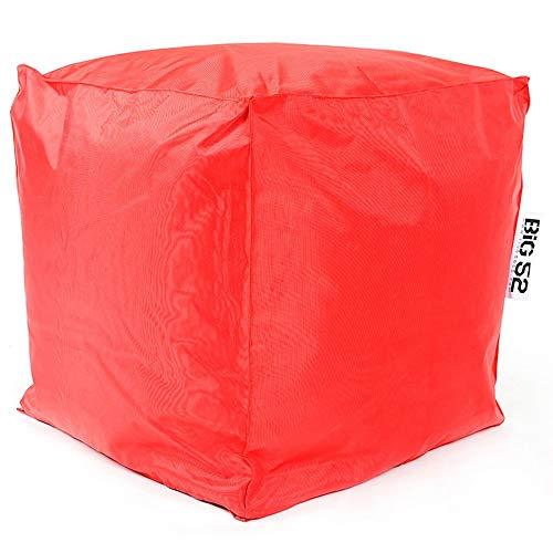 LiveDeco® - Pouf Cube BiG52 - Rouge