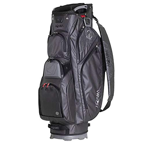 Lowest Price! Honma 2020 Cart Bag Black/Gray