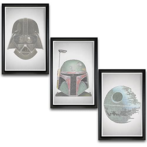 Star Wars Wall Art Triple Set