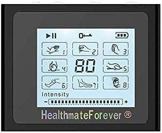 HealthmateForever FDA despejó electroestimulacion Ts8 8 modos Digital Tens unidad de pantalla táctil