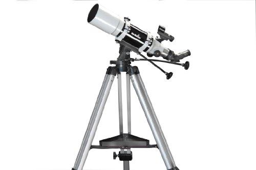 Skywatcher Startravel-102 (AZ-3) (102mm (4 Zoll), f/500) Refraktor Teleskop schwarz