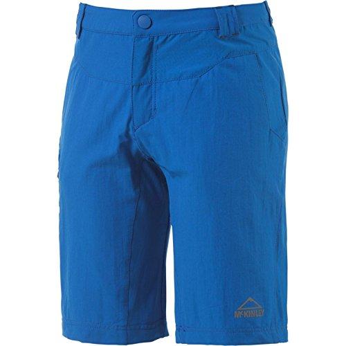 McKinley Kinder Jungen Freizeit Wander Trekking Hose Bermuda Tyro royal blau, Größe:116