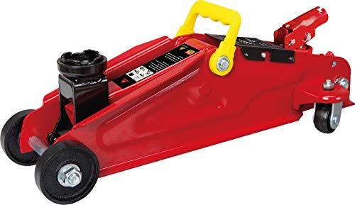 Petex 44750012 Gato hidráulico de 2 toneladas, Color Rojo