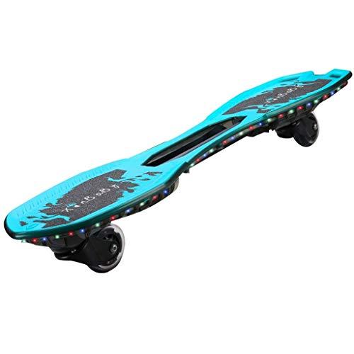 MJY Skateboard Waveboard Es Kickboard Skateboard für Kinder Vitality Board Wakeboard für Kinder mit Rädern Skateboard Kinder Kinder 2 Räder Hochglanzrad Skateboard Geschenk Geburtstagsgeschenk Weihna