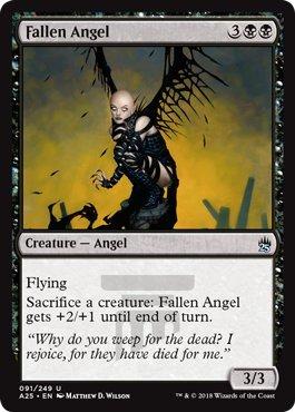 Magic The Gathering - Fallen Angel - Angelo Caduto - Masters 25
