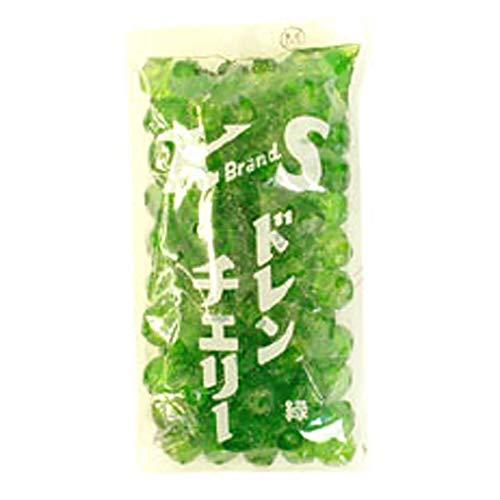 【 業務用 】 紀州食品 ドレンチェリー 緑 400g