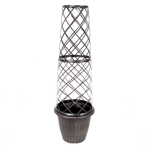 YouGarden 1.3M Tower Pot and Trellis