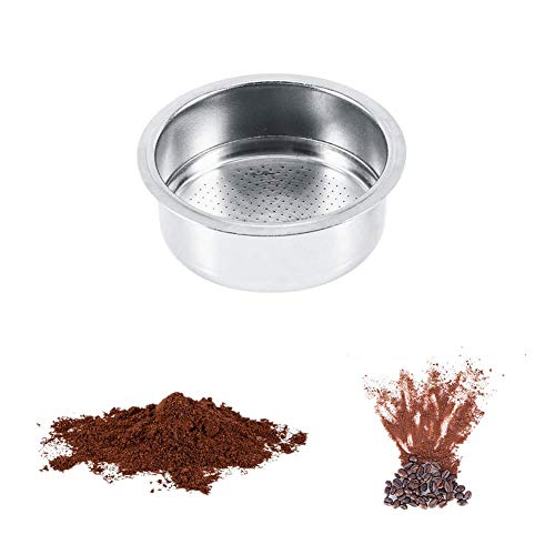 Coffee Filter Basket, Coffee 52mm Pressurized Filter Basket Home Office Coffee Tool For GUSTINO Without Filter Holder