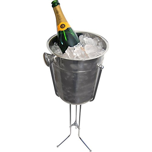 KegWorks Champagne & Wine Bucket with Stand - 29.5 Inches High