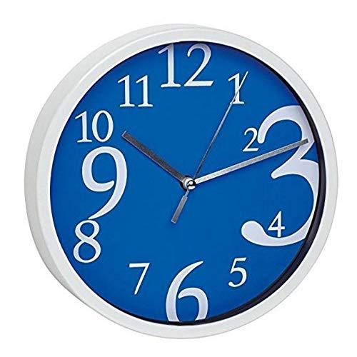 TFA Reloj de Pared electrónico Azul de 200 mm