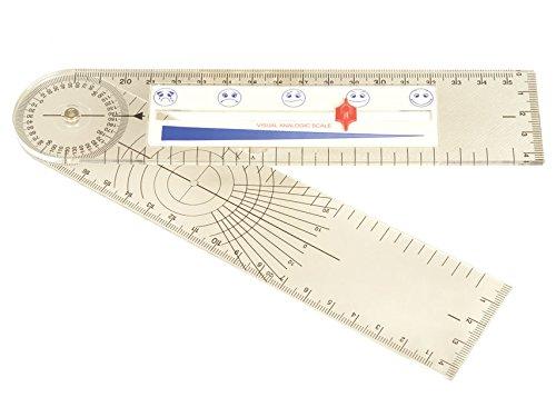 Dopan S.A. 794 - Goniómetro y regla con escala de dolor