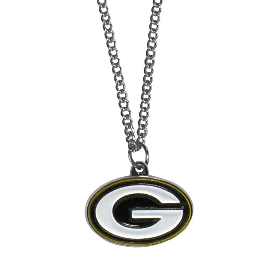 NFL Siskiyou Sports Fan Shop Green Bay Packers Chain Necklace with Small Charm 22 inch Team Color