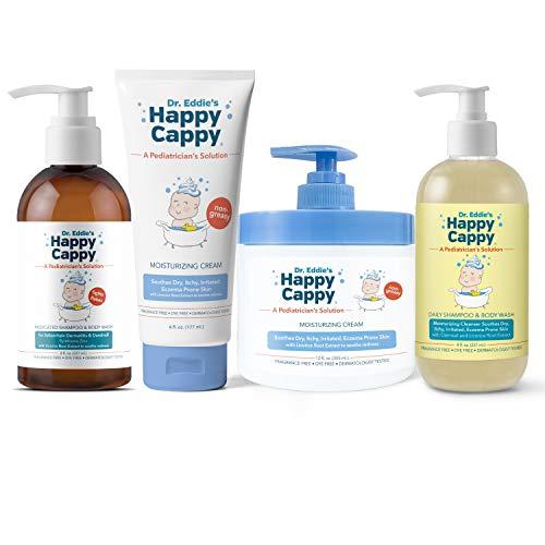 Happy Cappy All Products Bundle   Manage Seborrheic Dermatitis and Sensitive Skin