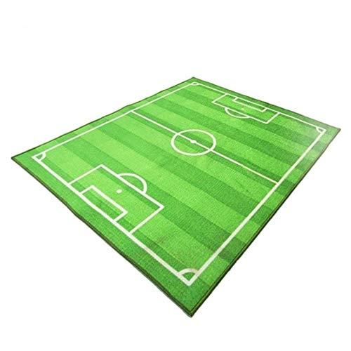 Campo fútbol fútbol Alfombra niños Gatear Alfombra