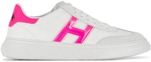 Hogan Femme HXW3650BJ50KX93724 Blanc Cuir Cuir Cuir paniers 9ae