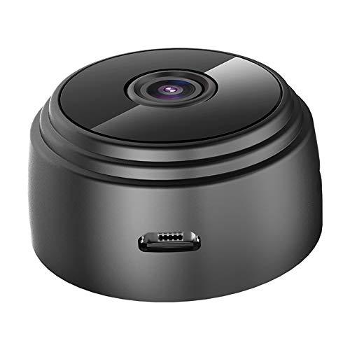 YUOXO 1080 p HD mini cámara WiFi videocámara visión nocturna espía cámara inalámbrica cámara de seguridad portátil cámara recargable adecuado para el hogar y la oficina