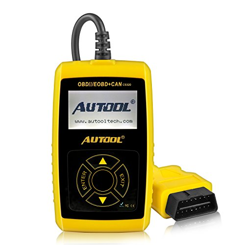 Great Price! AUTOOL Universal OBD II Scanner Car Engine Fault Code Reader OBD2 CAN Diagnostic Scan T...
