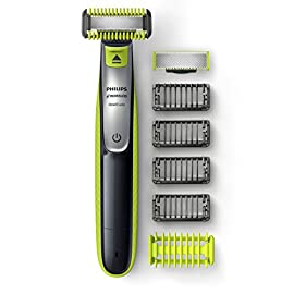 - 4150RIbyShL - Philips Norelco OneBlade QP2630/70 Face + Body, Hybrid Electric Trimmer and Shaver