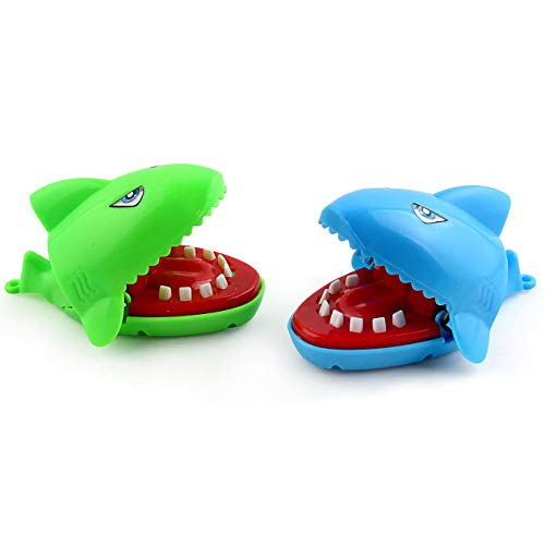 cottonlilac Mini Bite Toy Bite Shark Bite Hand Crocodile Evil Dog Spoof Juguete Creativo Juguete Interactivo Entre Padres e Hijos - Color Aleatorio