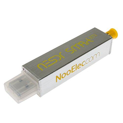 NooElec NESDR SMArt XTR SDR - Premium RTL-SDR w / Extended Range di sintonia, Recinzione di alluminio, 0,5ppm TCXO, SMA ingresso. RTL2832U & E4000-Based Software Defined Radio