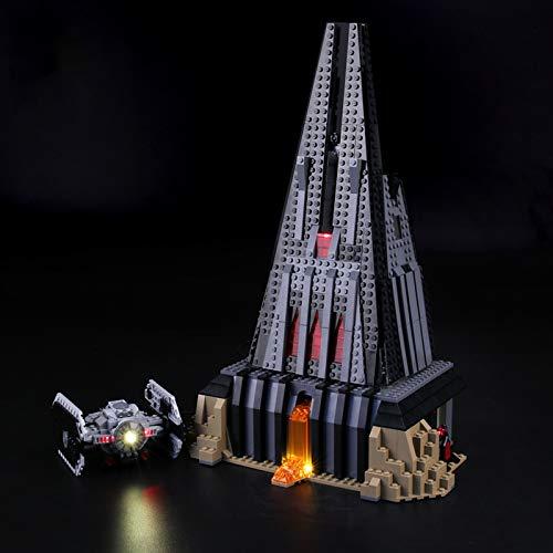 Kit De Iluminación Led para Lego Star Wars Castillo De Darth Vader, Compatible con Ladrillos De Construcción Lego Modelo 75251(NO Incluido En El Modelo)