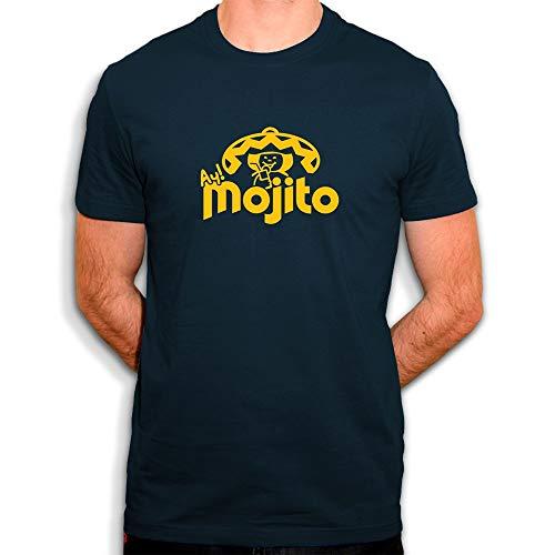 Sergent Tobogo Mojito - Pepito - T-Shirt Homme Bleu (L)