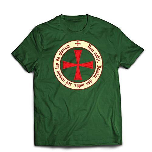 lepni.me Camisetas Hombre El Código de los Templarios Orden