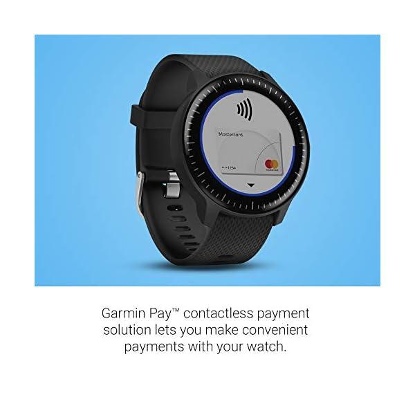 Garmin vívoactive 3 Music, GPS Smartwatch with Music Storage, Supports Spotify - Black (Renewed) 5
