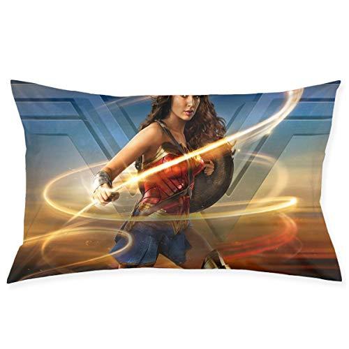 Uizhaic Wonder - Federa per cuscino da donna, 50 x 75 cm, quadrata, per divano, auto