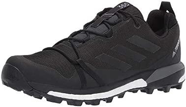 adidas Outdoor Men's TERREX SKYCHASER LT GTX Athletic Shoe, CARBON/BLACK/GREY FOUR, 6 D US