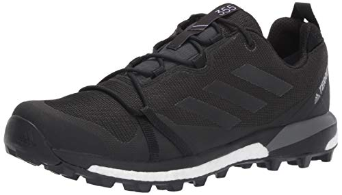 adidas Outdoor Men's TERREX SKYCHASER LT GTX Athletic Shoe, CARBON/BLACK/GREY FOUR, 11.5 D US