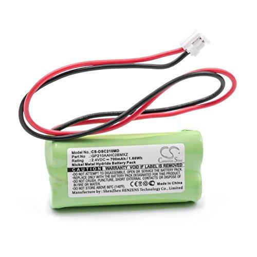 vhbw batteria compatibile con Dentsply Propex II strumento medico come localizzatore apicale (700mAh,...