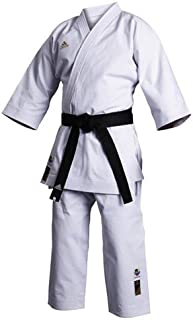 adidas Karate K460 Champion for Master 16oz Canvas Size 2 to 7 (White, 5.5-6'0