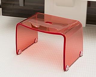 Favor 【フェイヴァ】 アクリル製 お風呂いす ピンク (S)※風呂イス単品購入ページです。