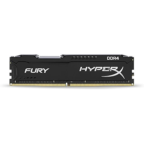 Fury Black, Hyper X, 16Gb 2666Mhz Ddr4 Cl16 Dimm, Memória