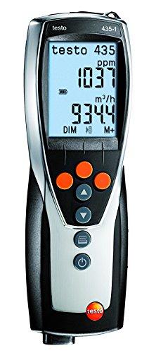 Testo Multifunktions - Messgeraet Luftfeuchte -Temperatur-Messgerät, Thermo - Hygrometer, 435-1
