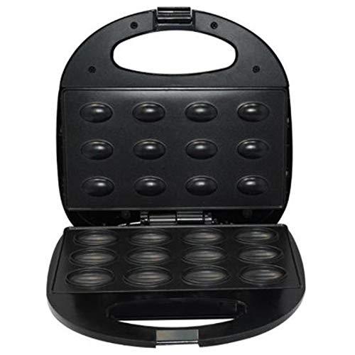 Sandwichera Multifuncional,Mini máquina automática de pan para hacer gofres con nueces, utensilios para hornear antiadherentes para hacer en casa el desayuno