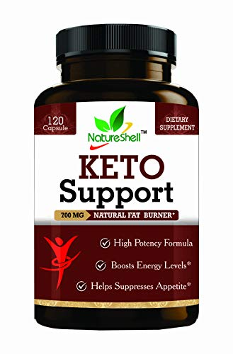 Natureshell Keto Support-120 Capsules (Advanced Weight Loss Supplement)