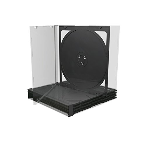 MediaRange BOX23 custodia Jewel Case doppia a 2 posti - 100 pezzi per CD/DVD
