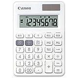 Canon 8桁電卓 LS-80TU-WH SOB  PURE WHITE 千万単位表示