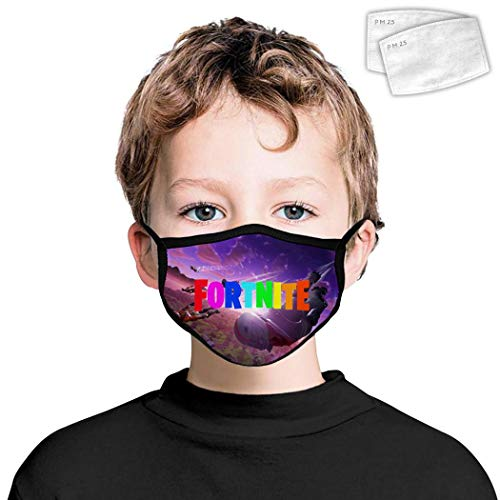 for-TN_ITE Battle Royal Dust Cover with Filters Windproof Breathable Earloop for Boys Girls Kids