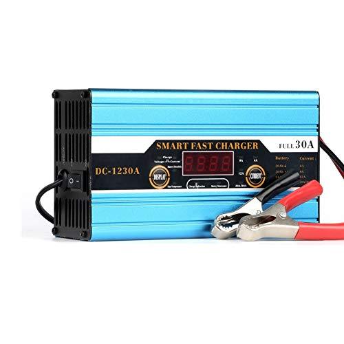 Cargador Coche Carga Rapida Cargador De Baterias 12v Cargadores de batería de coche de alta resistencia De cargadores de batería