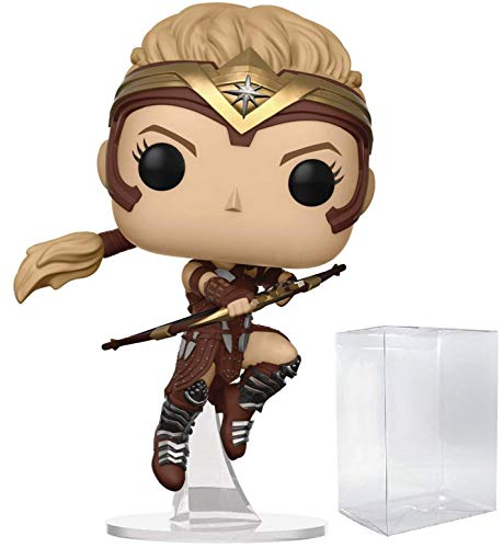 Wonder Woman Movie Antiope Pop! Vinyl Figure and (Bundled with Pop BOX PROTECTOR CASE)