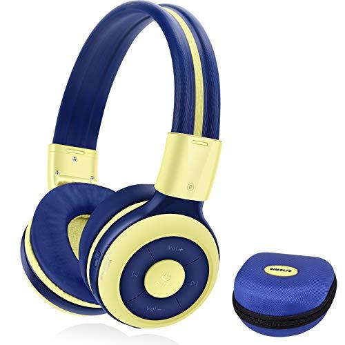 SIMOLIO Wireless Bluetooth Headphones with Microphone, Volume Limited...