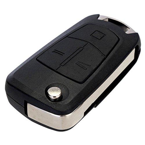 Opel Schlüssel Gehäuse Fernbedienung Klappschlüssel 3 Tasten KS02 Astra H Corsa D Meriva Signum Vectra C Zafira B